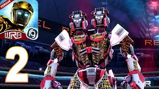 Real Steel World Robot Boxing (WRB) - Gameplay Walkthrough part 2 -  Atom Challenge (ios,android)