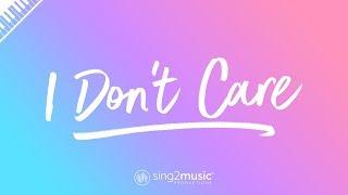 I Don't Care (Piano Karaoke Instrumental) Ed Sheeran & Justin Bieber