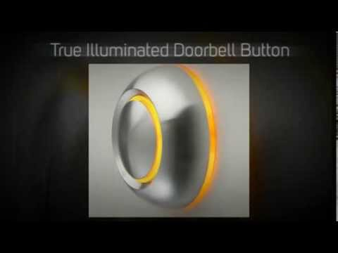 True Illuminated Doorbell Button   Modern Home Decor
