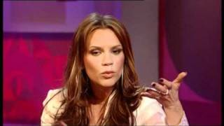 Victoria Beckham - Friday night with Jonathan Ross 2003