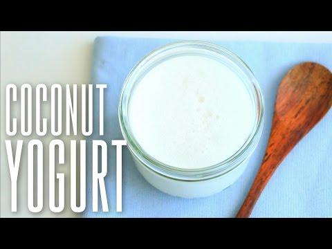 yaourt au lait de coco recette v g talienne alice esmeralda. Black Bedroom Furniture Sets. Home Design Ideas