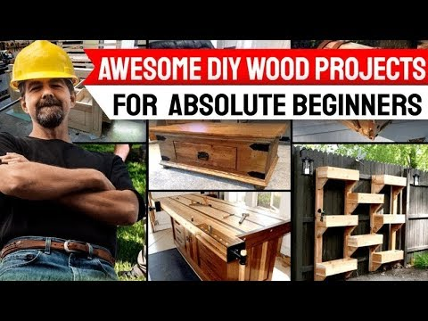Awesome DIY Wood Projects For Absolute Beginners