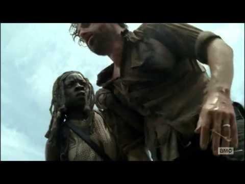 The Walking Dead - The Governor Death Scene