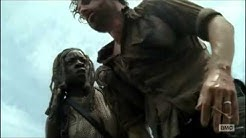 The Walking Dead - The Governor Death Scene
