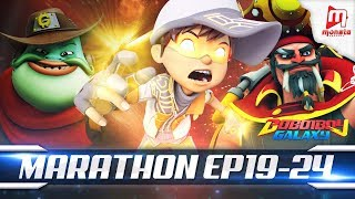 Video BoBoiBoy Galaxy Marathon - EPISOD 19 - 24 download MP3, 3GP, MP4, WEBM, AVI, FLV Agustus 2019
