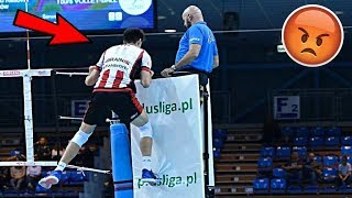 ATTACK ON REFEREE !? Angry Volleyball Moments (HD)