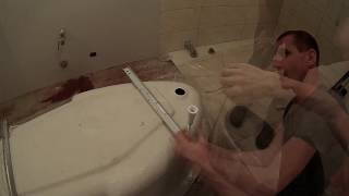 Монтаж угловой акриловой ванны. Cersanit.(, 2017-06-25T16:00:04.000Z)