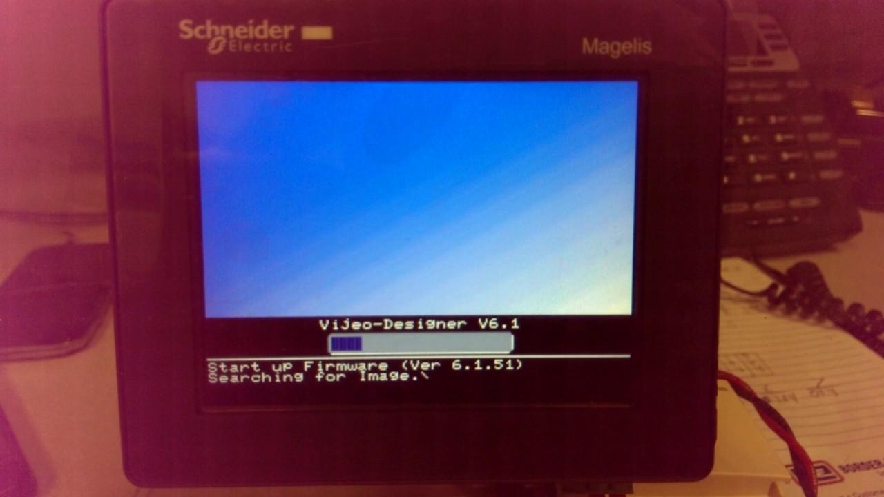 Magelis HMI change IP address of panel