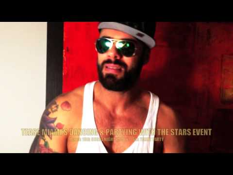 ALEX MARTE for TEASE MIAMI'S DANCING AND PARTYING WITH THE STARS EVENT