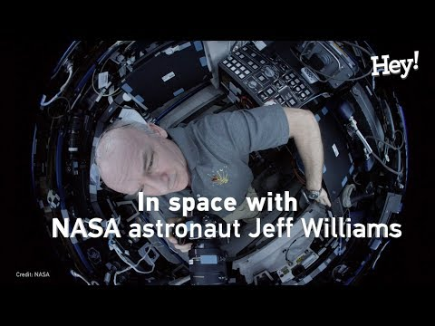 Life in space with NASA astronaut Jeffrey Williams