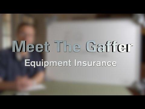 Meet The Gaffer #43: Equipment Insurance
