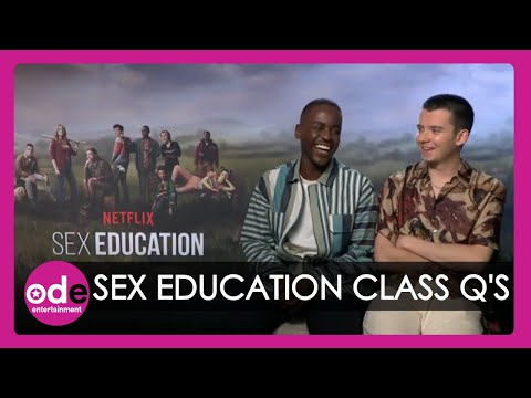 Sex Education cast reveal what they would ask in sex education class