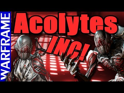 Acolytes Are A Comin'! Prepare, Tenno! Warframe Heads Up