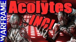 Acolytes Are A Comin Prepare Tenno Warframe Heads Up