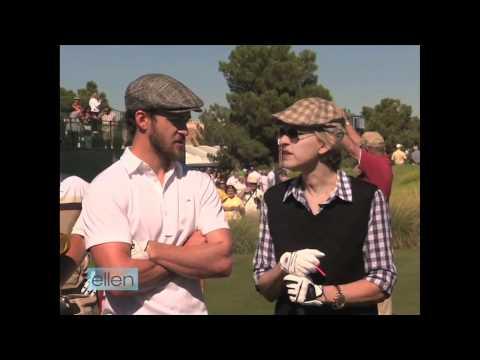 Ellen Golfs With Justin Timberlake