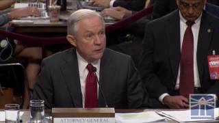 Sessions says Trump did not invoke executive privilege over his testimony | Sessions testifies