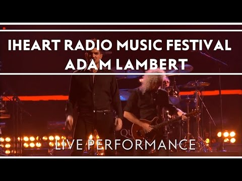 Queen + Adam Lambert at iHeartRadio Music Festival, Las Vegas, NV September 20, 2013
