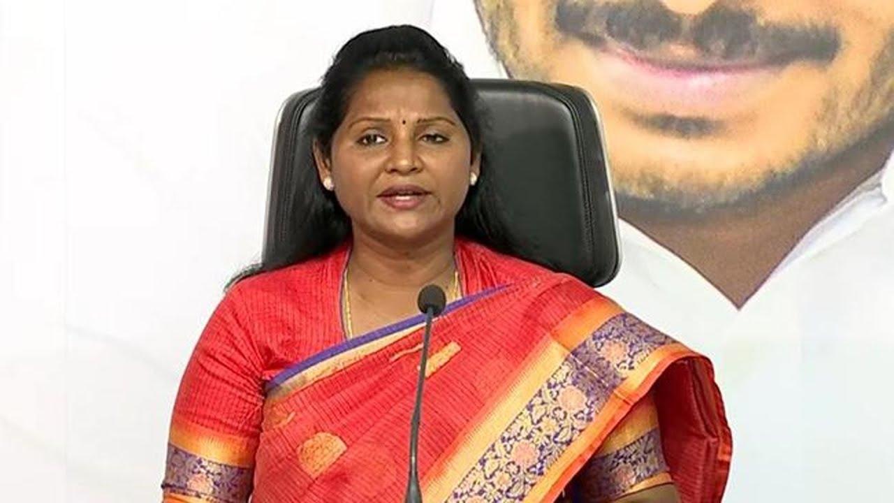 YSRCP MLA Sridevi Press Meet | TDP Leaders Abusing Comments | Sakshi TV
