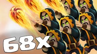 Baixar - 68 X New Level 7 Wizard Epic Attacks Ft Bomb Tower New Update Clash Of Clans Grátis