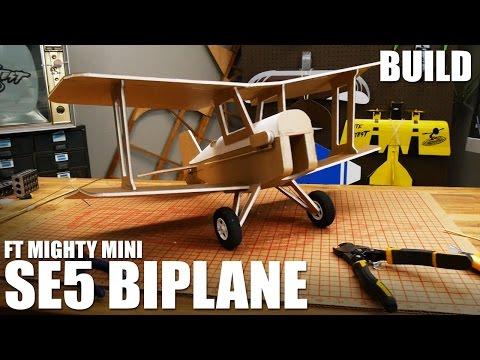 FT SE5 WWI Biplane - Build | Flite Test
