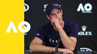 Andy Murray foreshadows retirement - full press conference | Australian Open 2019