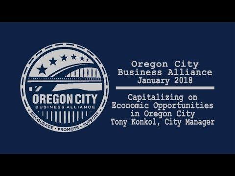 Oregon City Business Alliance, January 2018