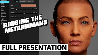 Rigging the MetaHumans in Unreal Engine | GDC 2021