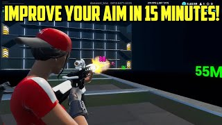 Never Miss a Shot after this! (Kovaaks Creative Aim Trainer) Fortnite Tips and Tricks