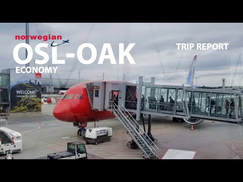 TRIP REPORT | Norwegian Air Boeing 787-9 | Oslo - Oakland (Economy)