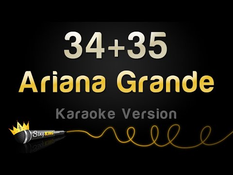 Ariana Grande - 34+35 (Karaoke Version)