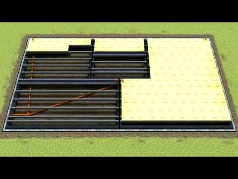 How to Install insulation block and beam floors, TETRiS eco-friendly thermal flooring system