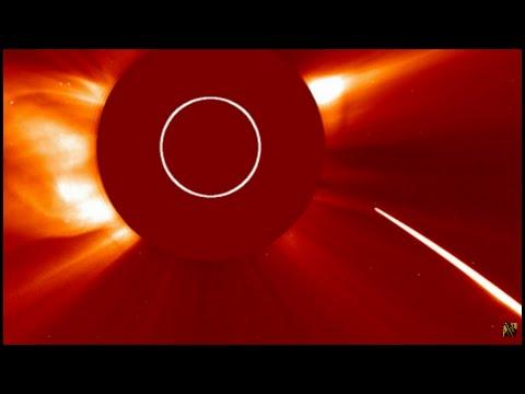 Comet Dives into the Sun: Latest LASCO C2 & C3 Images