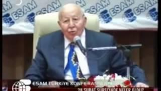 "ERBAKAN ANLATTI ""AKP'yi İsrail Kurdu"""