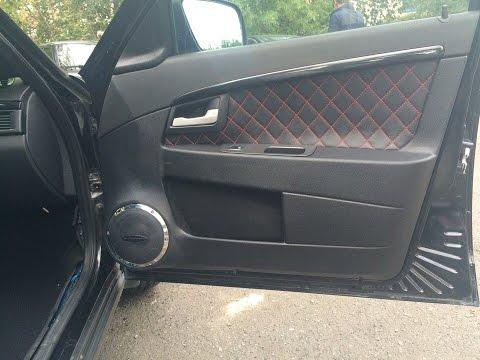 Как обшить двери автомобиля своими руками видео