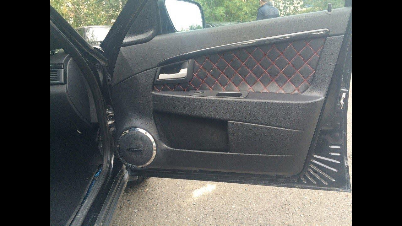 Материал для обшивки дверных карт авто и клей