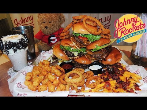 "johnny-rockets-8lb-""jumbo-rocket""-double-burgers-challenge-in-miami!!"