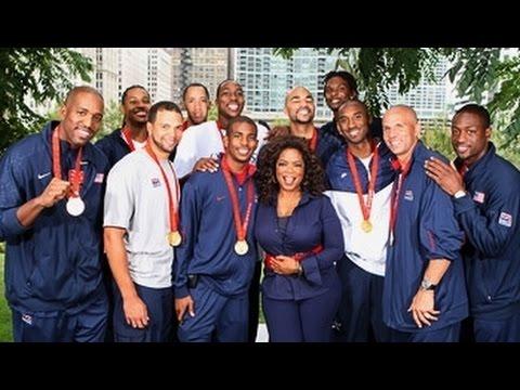 2008 USA Men's Basketball Team post Gold Medal Interview