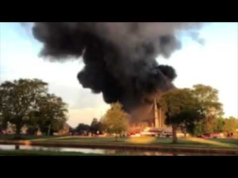 Fire erupts in Toulouse Street warehouse near Bayou St. John