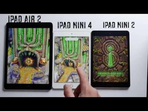Apple iPad Mini 4 vs iPad Air 2 vs iPad Mini 2 | Test de velocidad