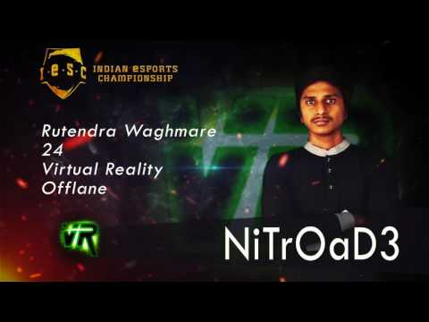 Team Virtual Reality at Indian eSports Championship