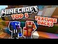 Minecraft - Top 5 Texture Packs! (Deutsch/German)