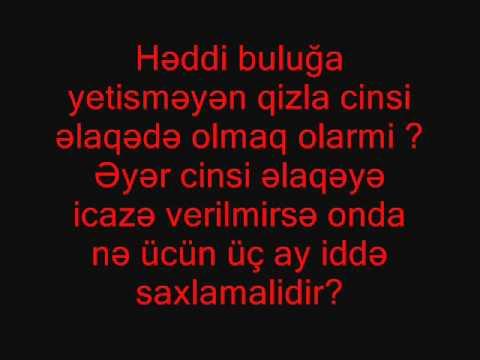 All comments on Haci Elxandan vehabilere hediyye - YouTube