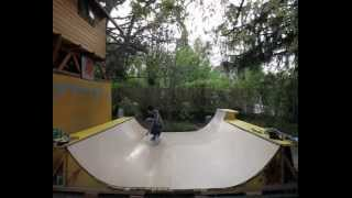 Building A Mini Ramp With Pool Coping Extension ...