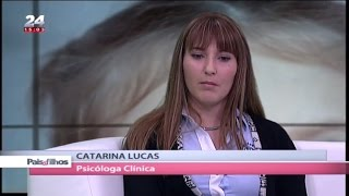 Explicar a morte e atentados terroristas às crianças - Dra. Catarina Lucas