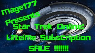 Star Trek Online - Lifetime subscription SALE FULL Review and comments