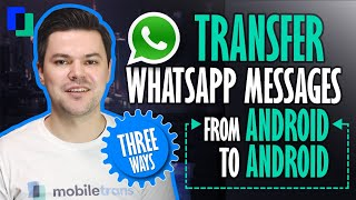 3 Ways to Transfer WhatsApp Message from Android to Android  (from Galaxy Note 10 to xiaomi 8 mi)