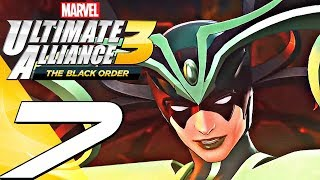Marvel Ultimate Alliance 3 - Gameplay Walkthrough Part 7 - Asgard & Hela (Full Game) Switch