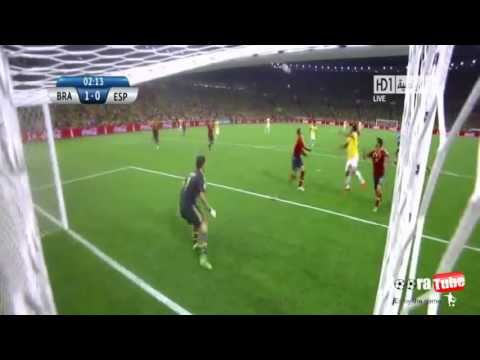 Brazil Vs Spain | 3-0 | All Goals and Highlights HD | Confederation Cup Final 2013