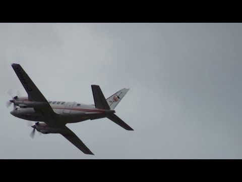 Air Creebec Beech A100 King Air Takeoff