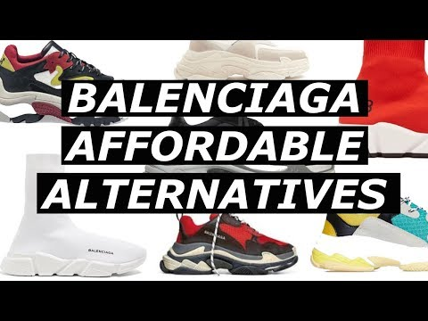 BALENCIAGA Affordable Alternatives | ASOS, Mennace, Budget, Option, Cheap Hypebeast Trend | Gallucks